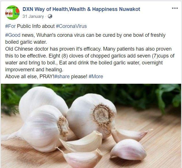 5 Info Kesehatan Palsu Tak Mampu Menangkal COVID-19