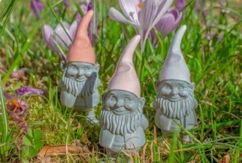 5 Fakta Menarik Garden Gnomes, Patung Kurcaci Kecil Penjaga Taman
